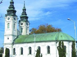 Biserica cu două turnuri - Lugoj