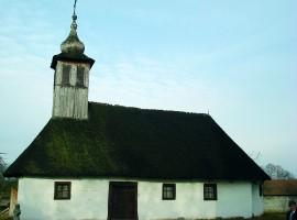 Biserica de lemn - Curtea